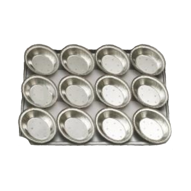 Palletized Pie Tins, (12) Oval , Tray size 460x360mm image 0
