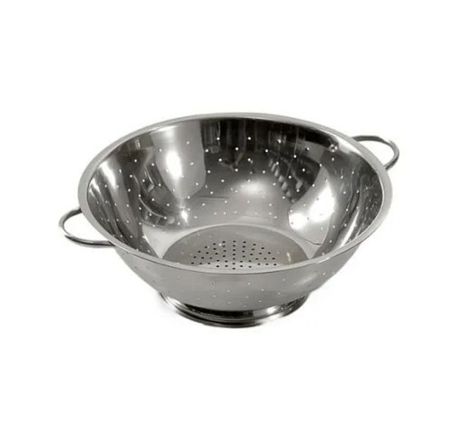Stainless Steel Colander - 290MM (4mm hole) image 0