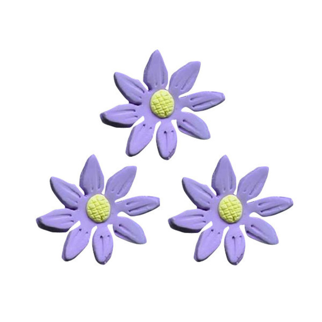 Icing Lavender Daisy, 35mm.  Box of 120 image 0