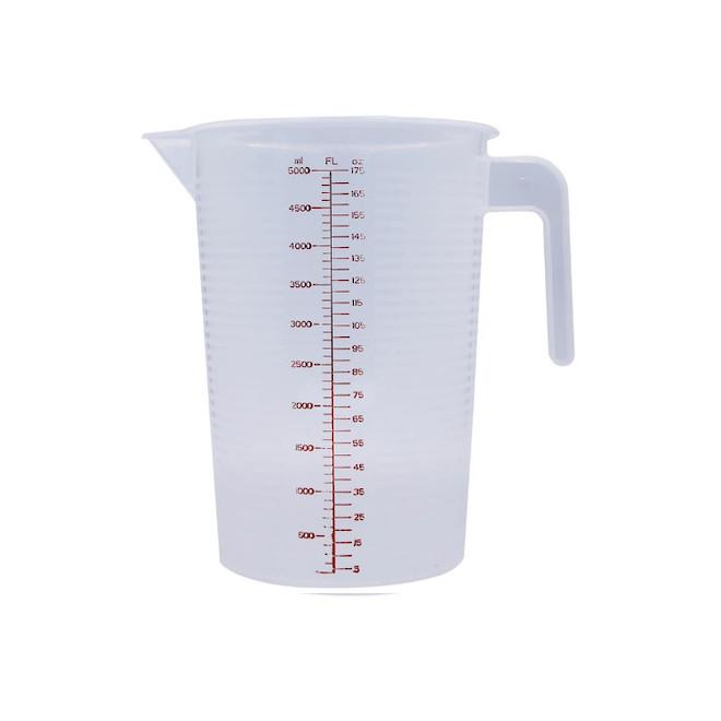 5 litre Plastic Measuring jug image 0