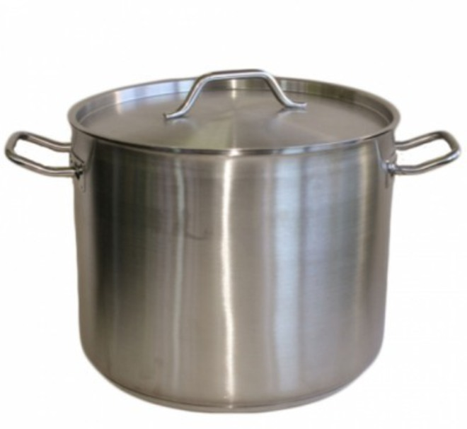 Stainless Steel Stockpot & Lid 20 litre image 0