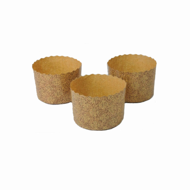 Brioche Paper Baking Mould (70mm x 50mm - Pack of 100) image 0