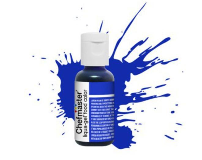 Chefmaster Liqua Gel Royal Blue .70oz Bottle(SOLD OUT) image 0