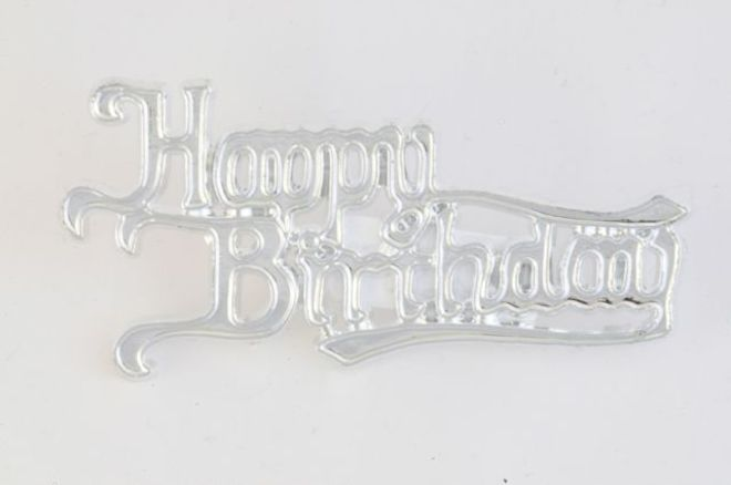 Happy Birthday Silver 65mm (6) image 0