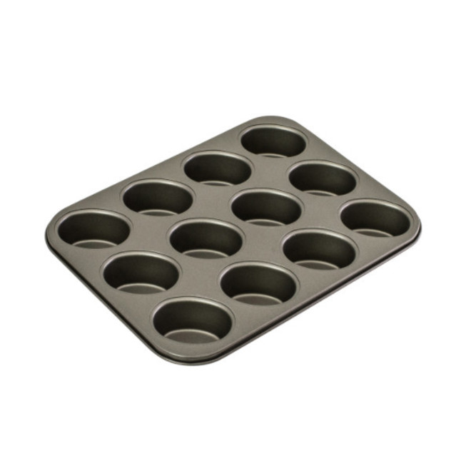 Friand Pan,  Plain Design 75mm x 35mm (12cup) image 0