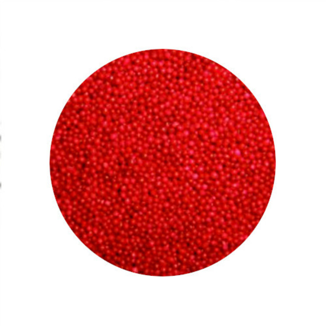 Non Pareils Sprinkles (100s & 1000s) Red (1kg bag) image 0