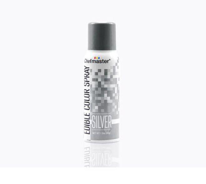 Chefmaster Edible Silver Spray - 1.5oz - SOLD OUT image 0