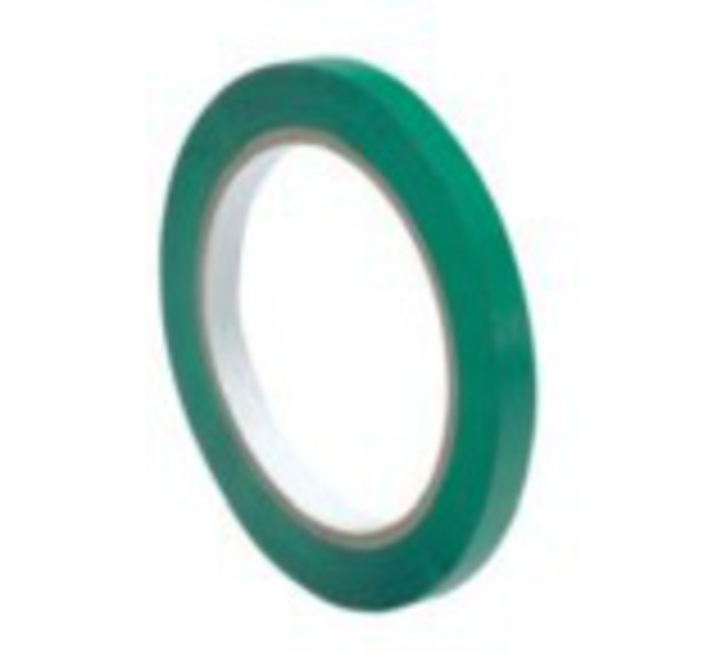 12mm Green Tape for Bag Neck Sealer image 0