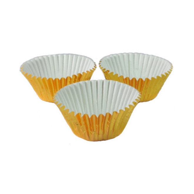 Foil Gold Baking Cups 55x35mm (500) image 0