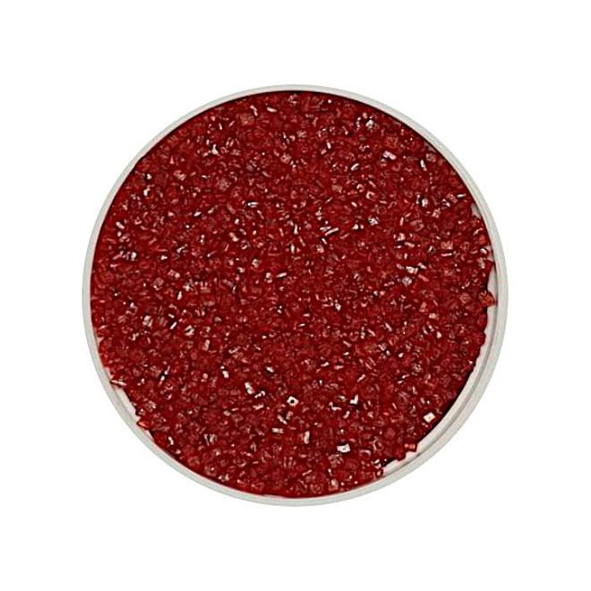 Sanding Sugar Red Sparkle (1kg bag) image 0