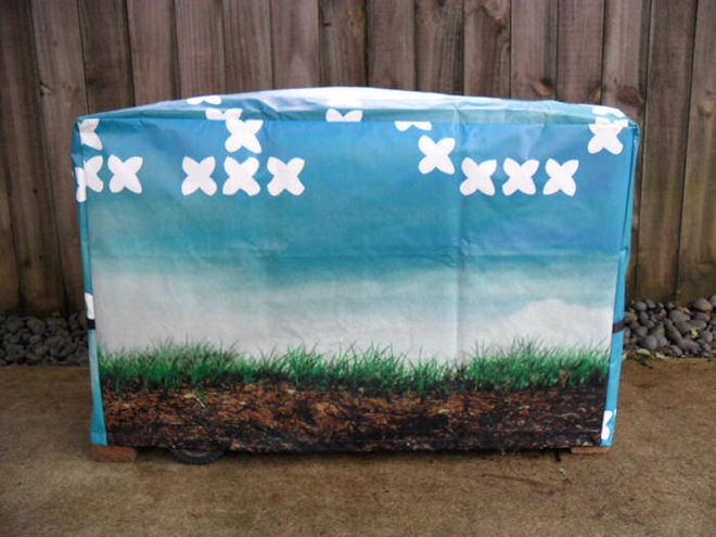 Flat Top BBQ Cover Small 80038 image 2