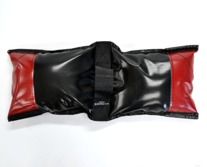 Sand Bags Black - Filled Deluxe Black and Red image 1