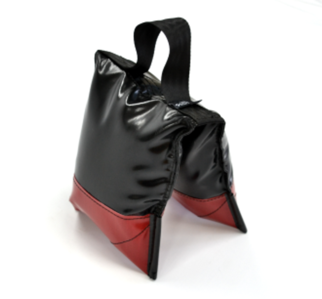 Sand Bags Black - Filled Deluxe Black and Red image 0