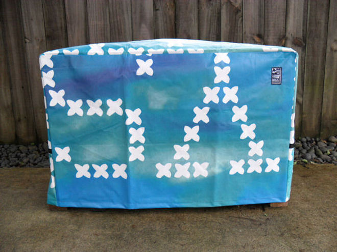 Flat Top BBQ Cover Small 80038 image 0