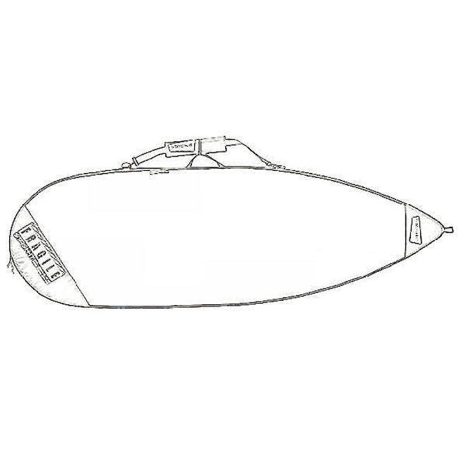 Shortboard Bag - Extra Wide Blank 50004 image 0