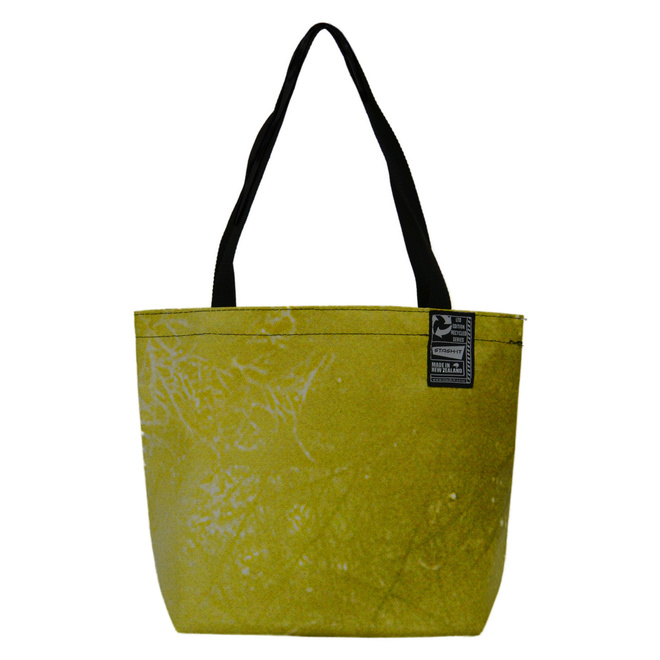 Recycled Billboard Bag - Small Tote 04112 image 0