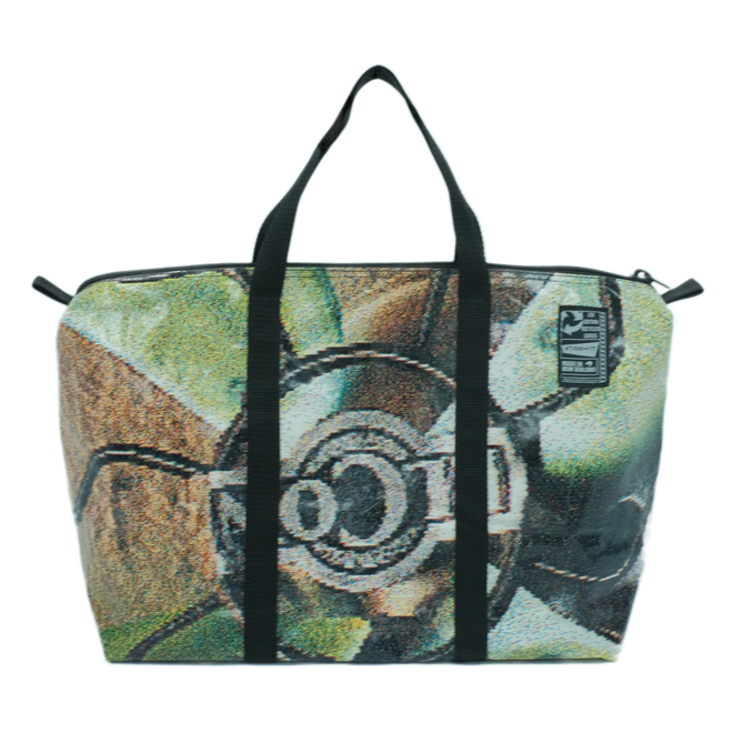 Recycled Billboard Bag - med gear 03413 image 0