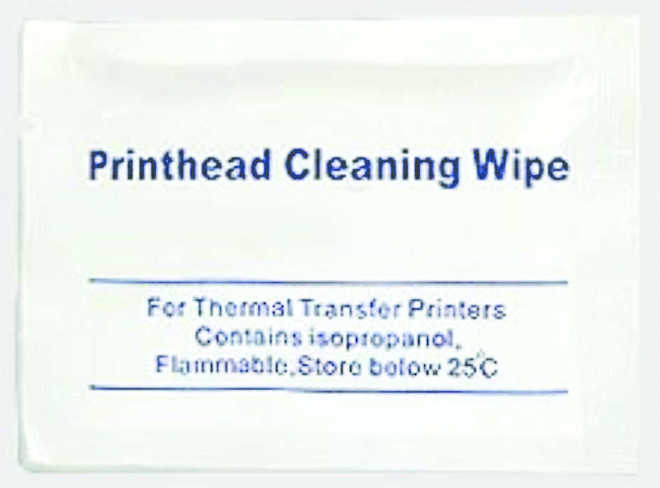 Printhead Cleaning Wipes - 25 per Pack image 0