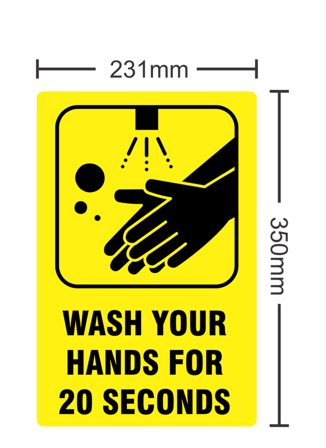 Wash Your Hands For 20 Seconds image 0