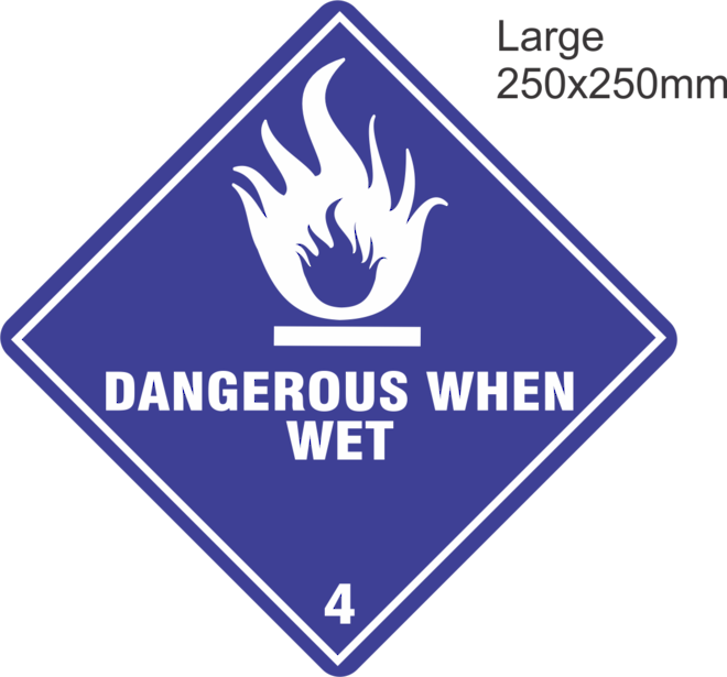 Dangerous When Wet Large Vinyl Single Labels image 0