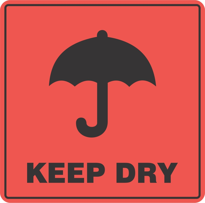 Keep Dry x500 labels image 0