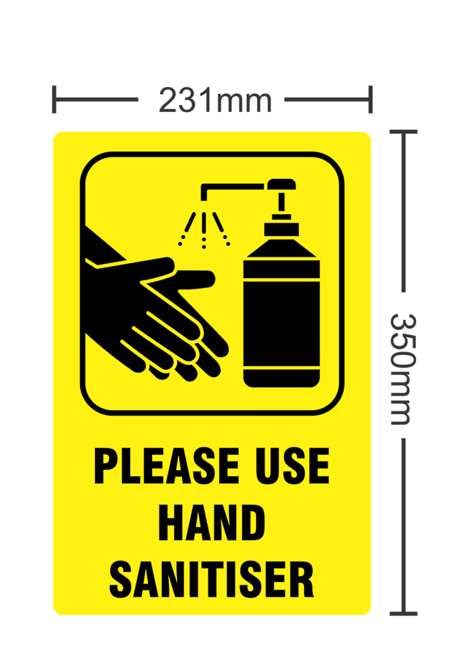 Please Use Hand Sanitiser image 0