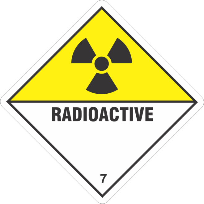 Radioactive 7 x500 labels image 0
