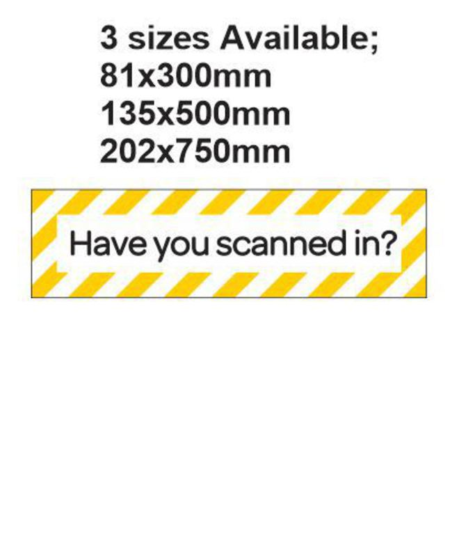 Have you Scanned in? image 0