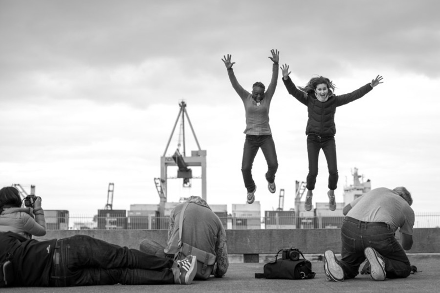 jumping in Auckland
