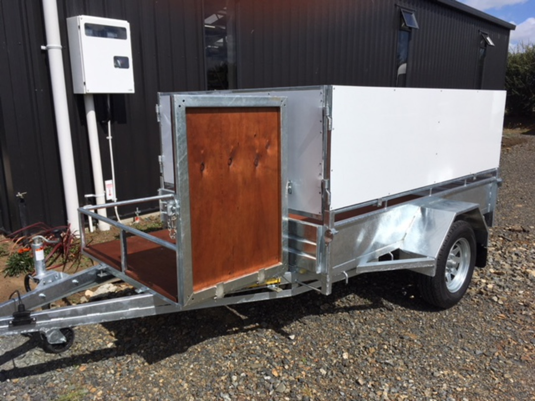 Heavy Duty Handyman Trailer Single Axle's from image 8