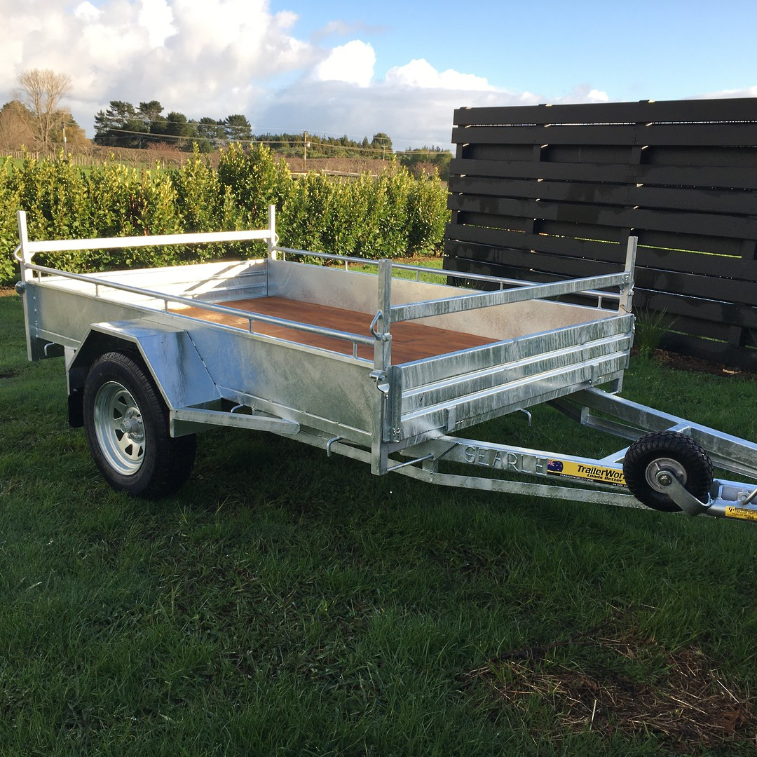 Heavy Duty Handyman Trailer Single Axle's from image 4
