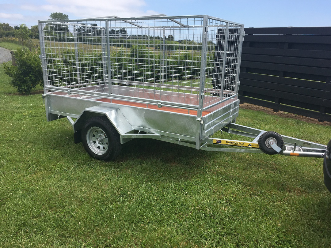Heavy Duty Handyman Trailer Single Axle's from image 1