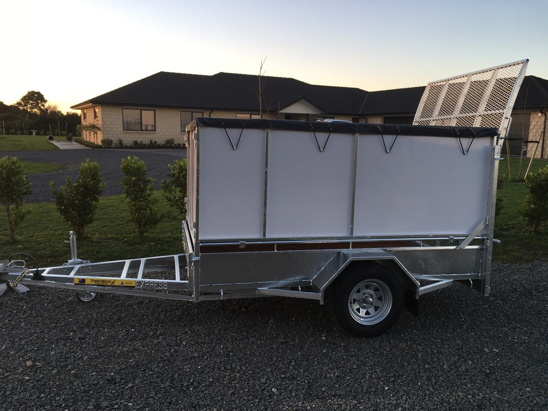 Heavy Duty Handyman Trailer Single Axle's from image 6
