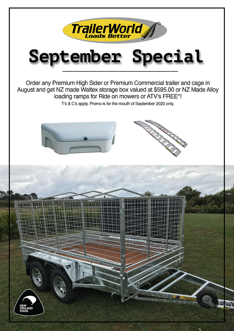 Premium Commercial Single Axle Trailers from image 1