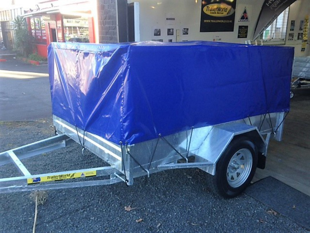 Heavy Duty Handyman Trailer Single Axle's from image 3