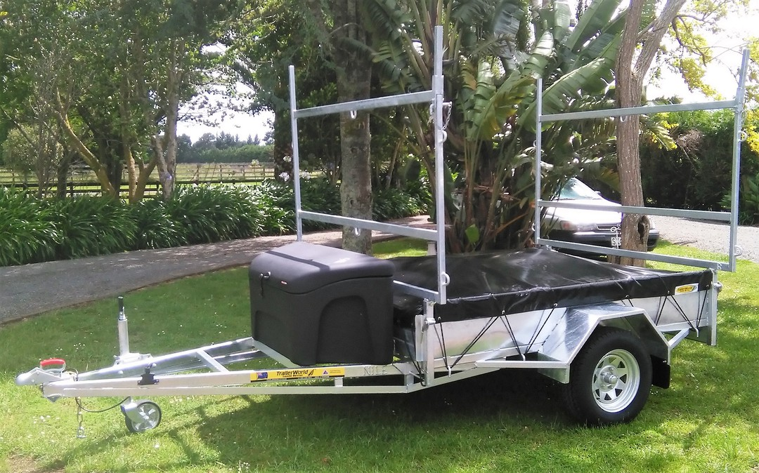 Heavy Duty Handyman Trailer Single Axle's from image 2