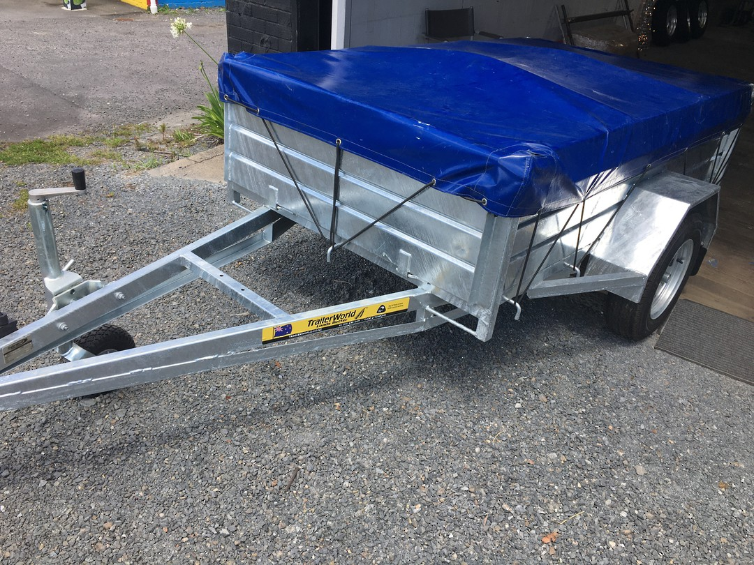 NZ manufactured 7x4 high sider image 0
