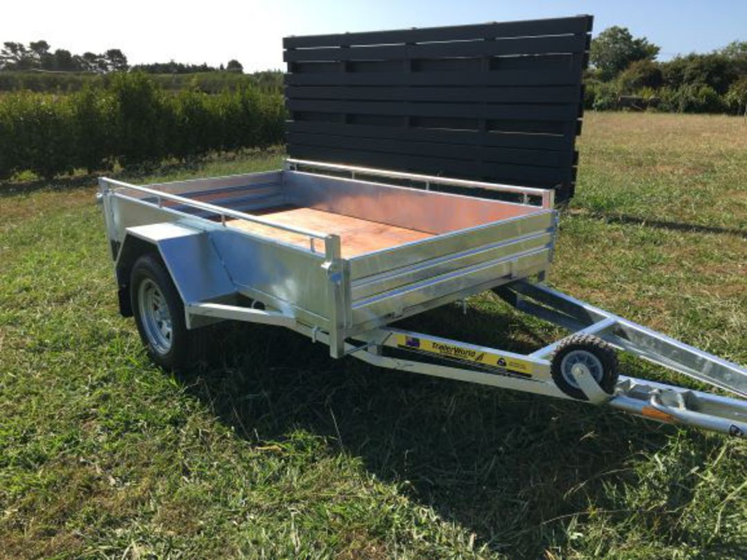 Heavy Duty Handyman Trailer Single Axle's from image 0