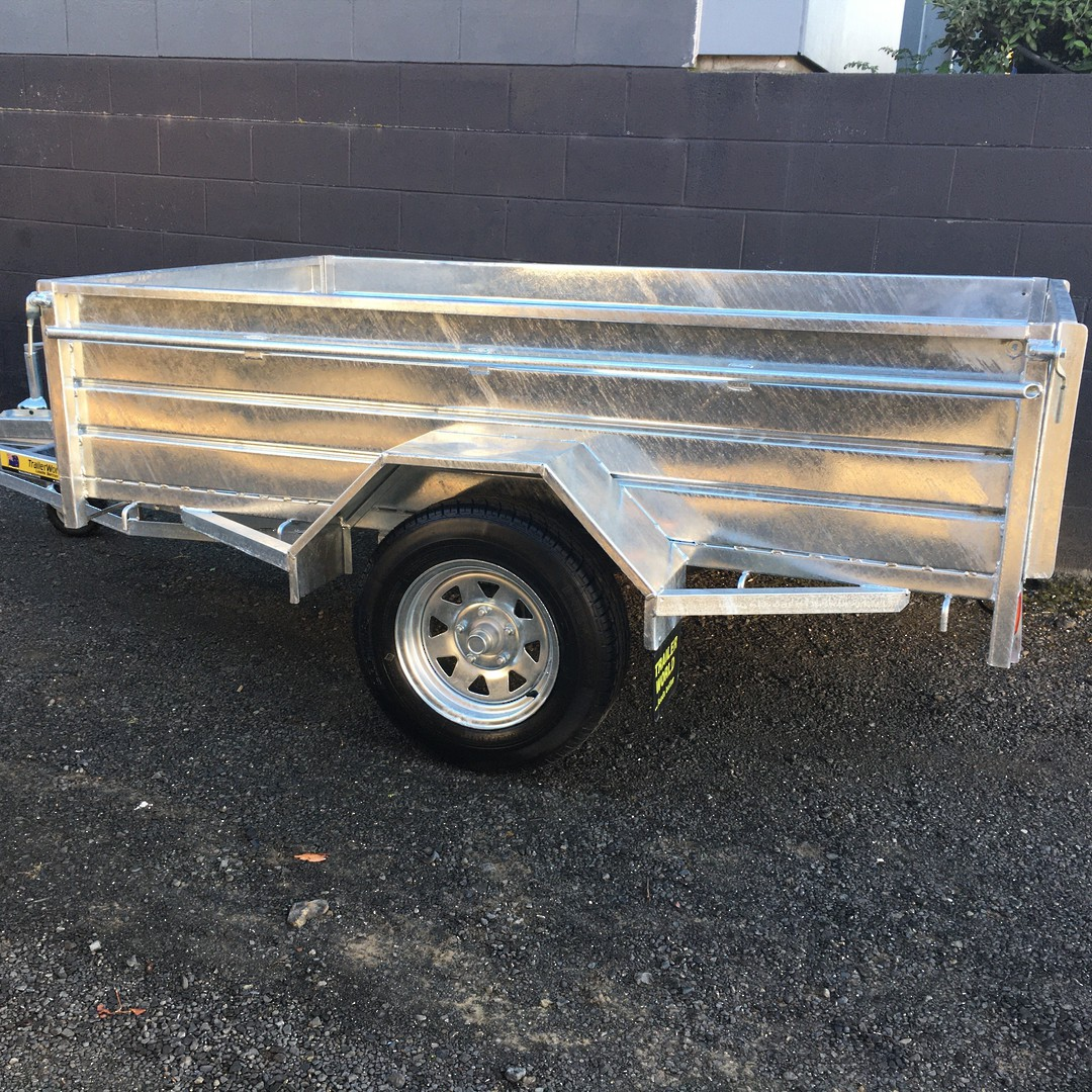 High Sider Single Axle Trailers from image 1