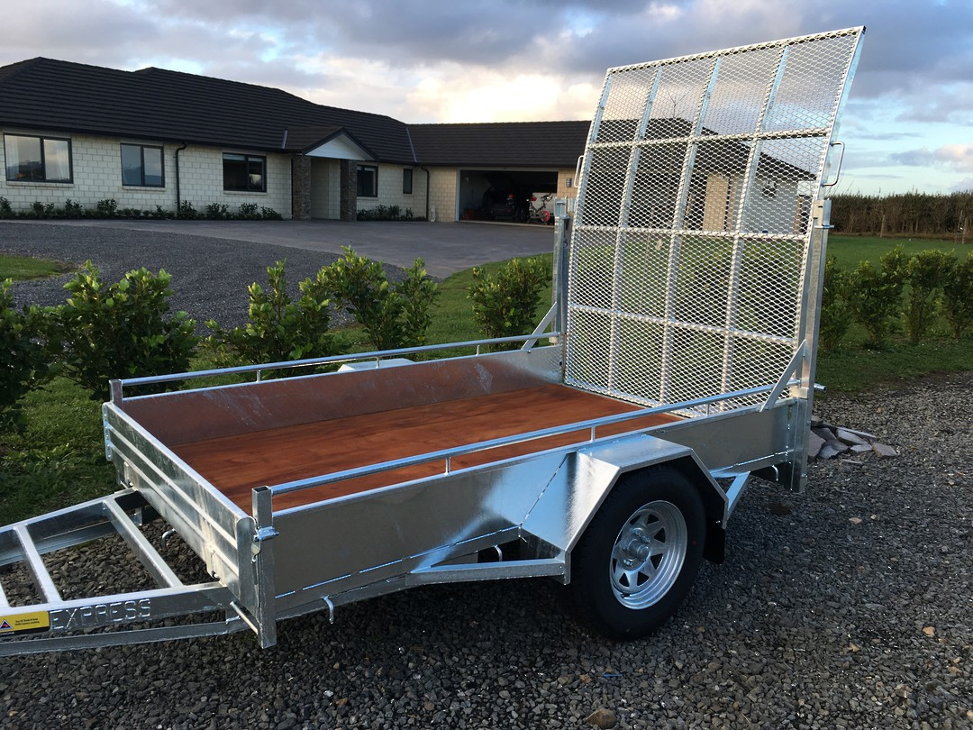 Heavy Duty Handyman Trailer Single Axle's from image 5