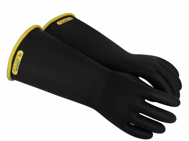 Class 2 Rubber Insulating Gloves - Up To 20,000V image 0