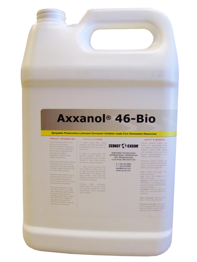 Zerust - Axxanol 46-BIO Light Lubricant Oil Corrosion Inhibitor image 0