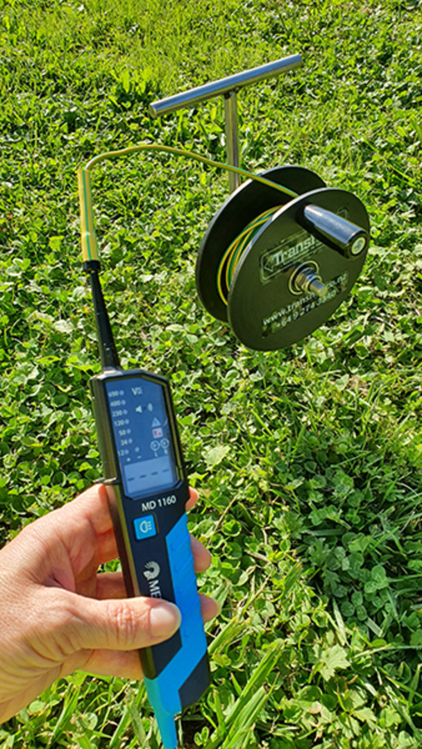 IET15M Independent Earth Tester Reel & Spike image 6