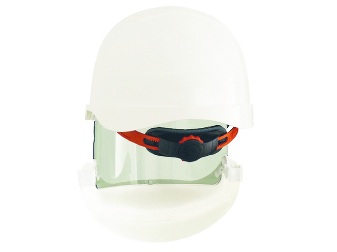 ErgoS Intec Power Helmet with Integrated Face Shield, 14 cal/cm2 image 1
