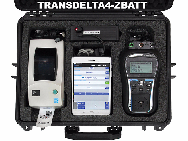 TRANSDELTA4-Z Portable Appliance Tester Kits image 0