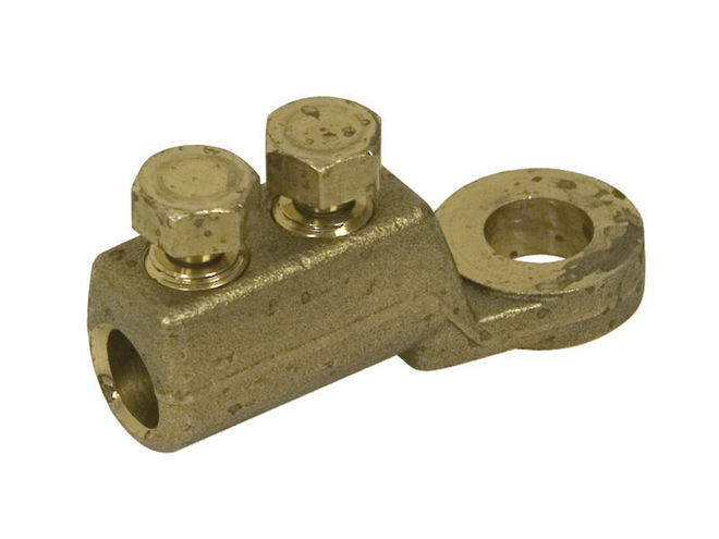 Brass End Termination Heavy Duty Brass Shearbolt Lug image 0