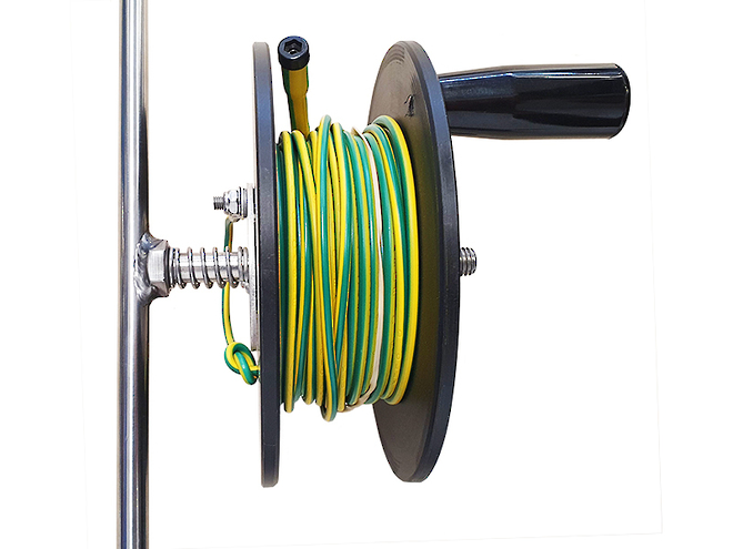 IET15M Independent Earth Tester Reel & Spike image 3