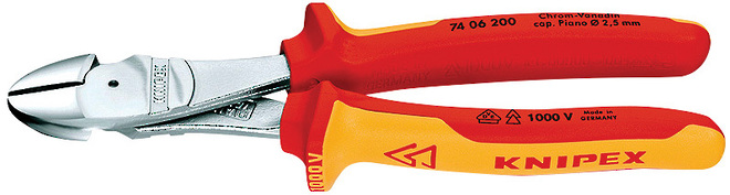 High Leverage Diagonal Cutting Pliers - Knipex image 0