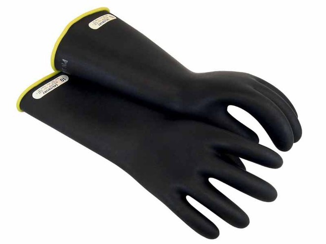 Class 1 Rubber Insulating Gloves - Up To 10,000V image 0