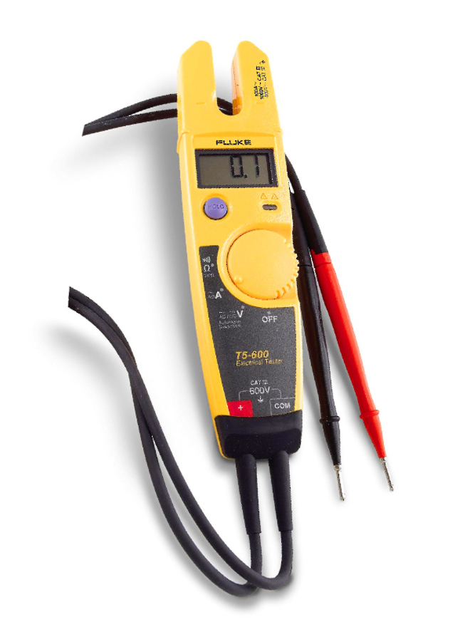 Fluke-T5-1000 & T5-600 Voltage & Continuity Testers image 1